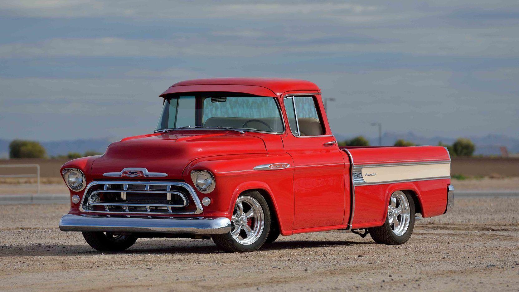 1958 Chevrolet Pickup presented as Lot S109.1 at Pomona
