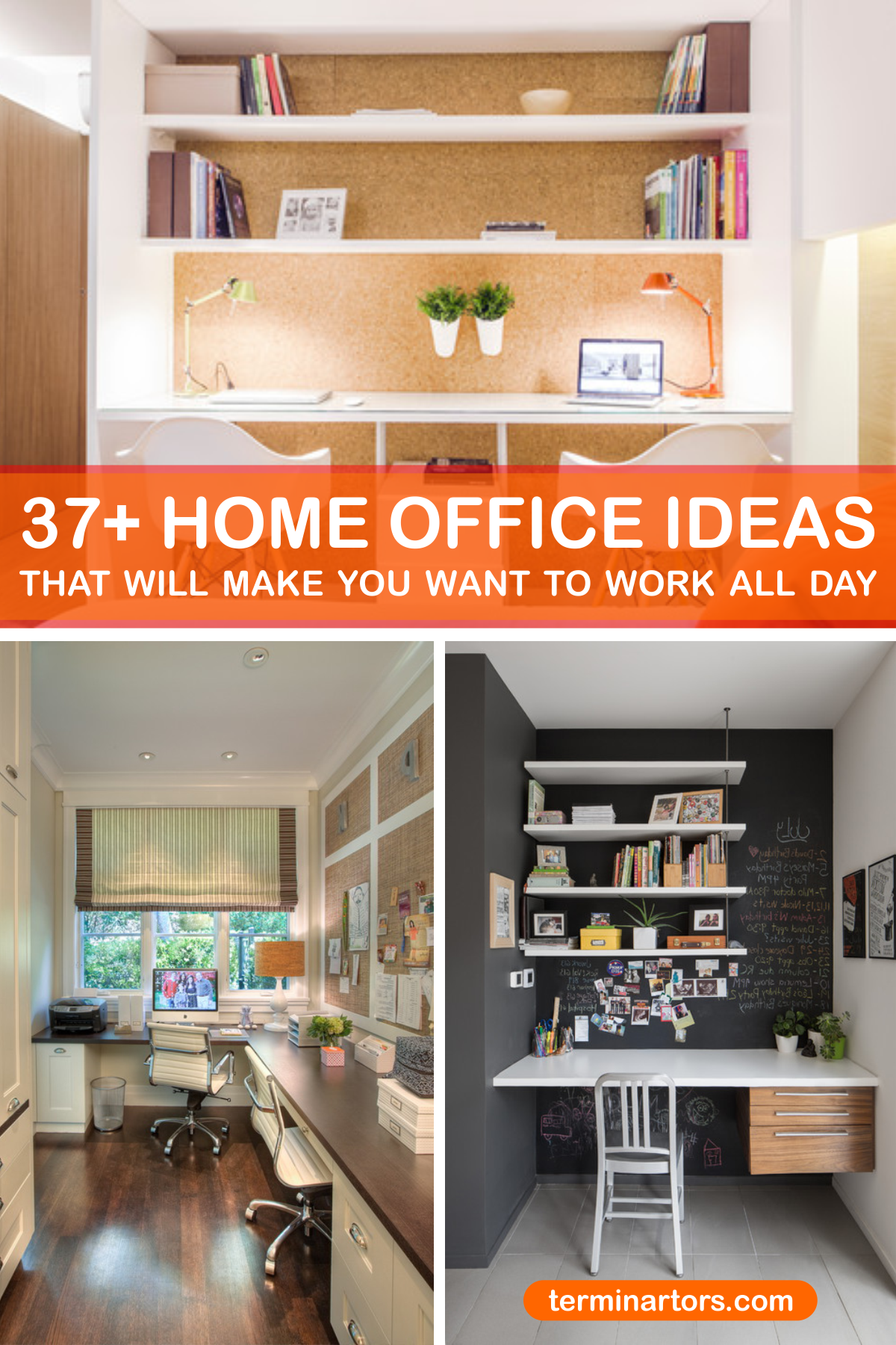 Working from home has become more than a trend here are 37 home office beautiful ideas that will make you wanna work all day