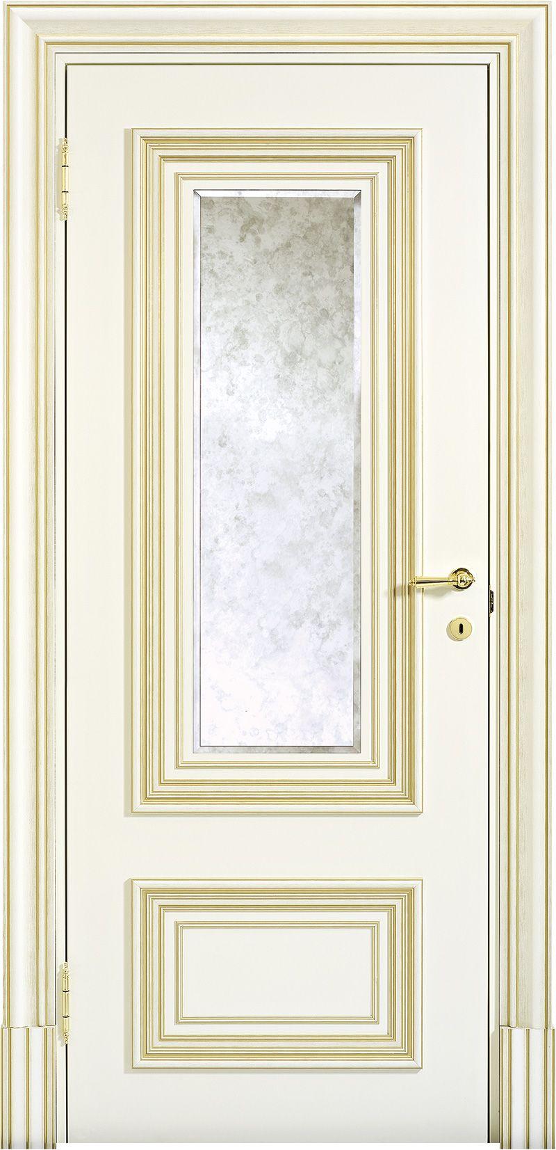 белые матовые межкомнатные двери Palladio производитель Barausse