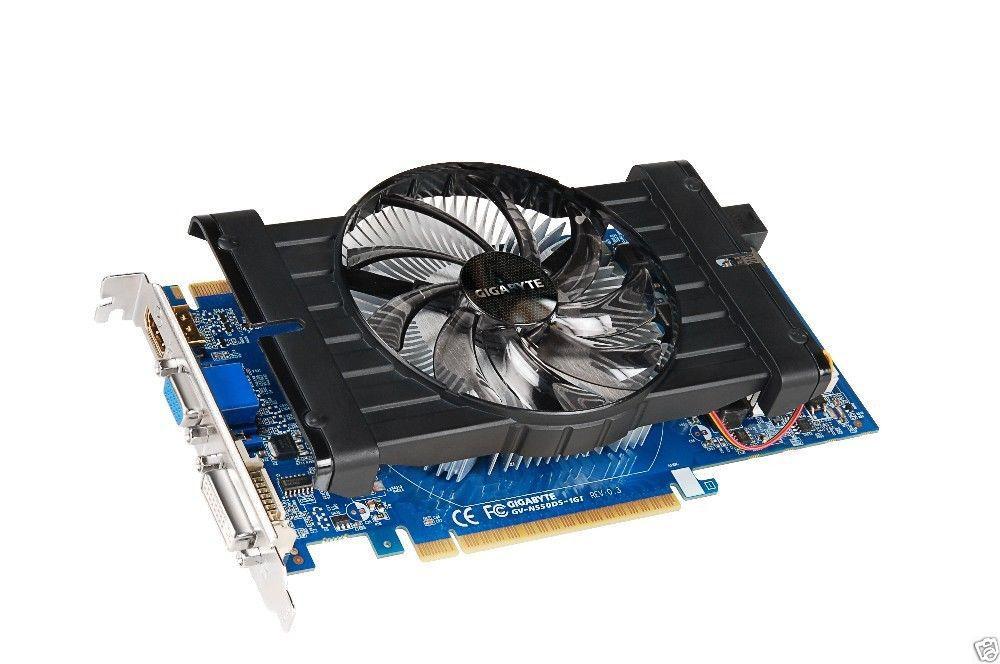 Gigabyte NVIDIA GeForce GTX550 TI 1G DDR5 GV-N550D5-1GI PCI-E Video Card HDMI #Gigabyte