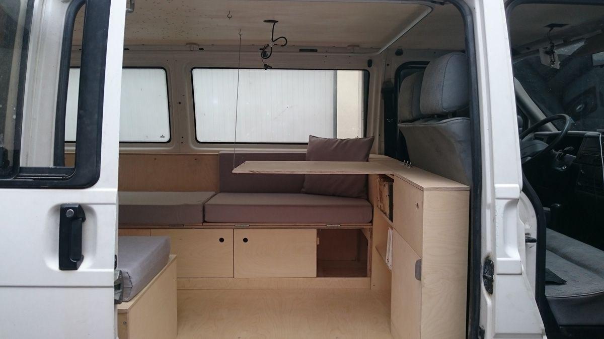 comment am nager un van un guide avec toutes les tapes. Black Bedroom Furniture Sets. Home Design Ideas