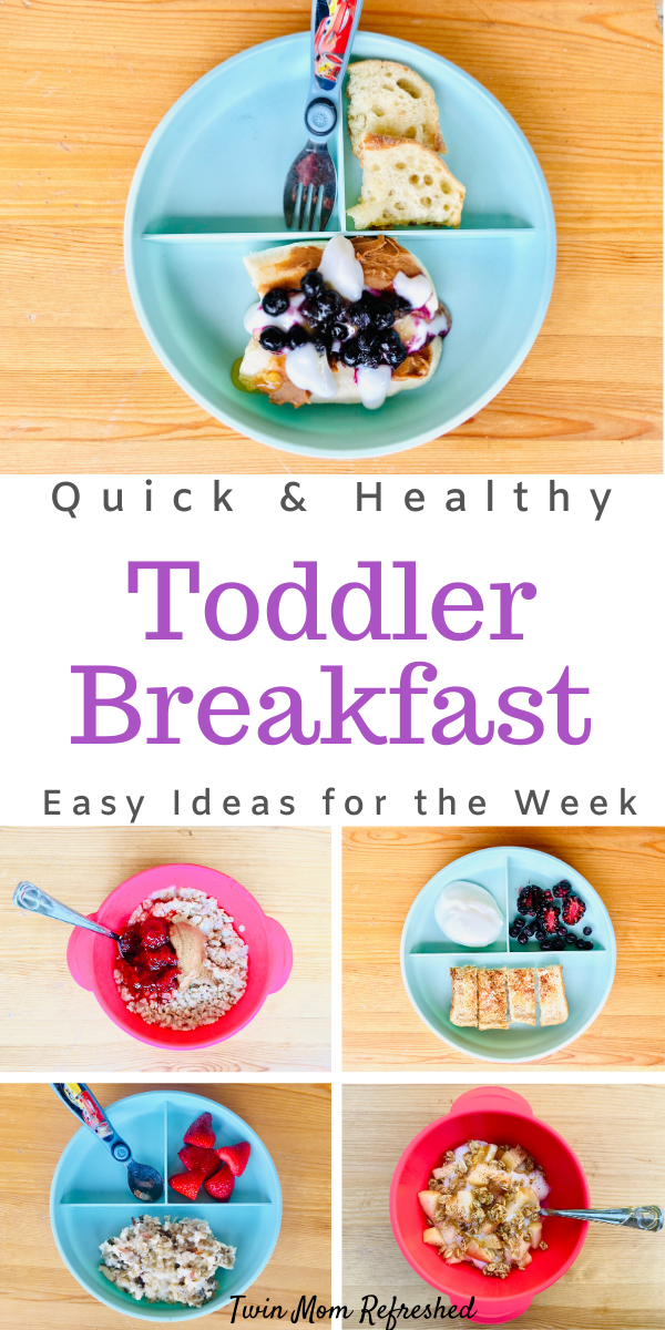Quick And Easy Breakfast Ideas For Toddlers Healthy Toddler Breakfast Healthy Toddler Meals Toddler Breakfast