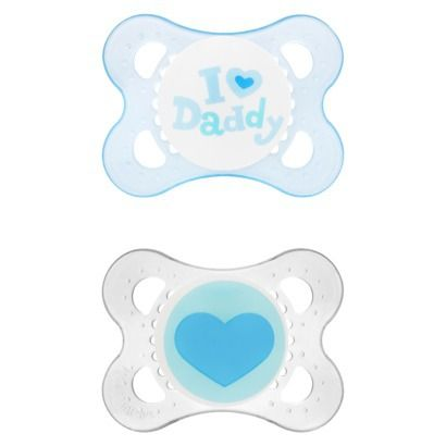 Mam Love & Affection Silicone 2Pk Paci