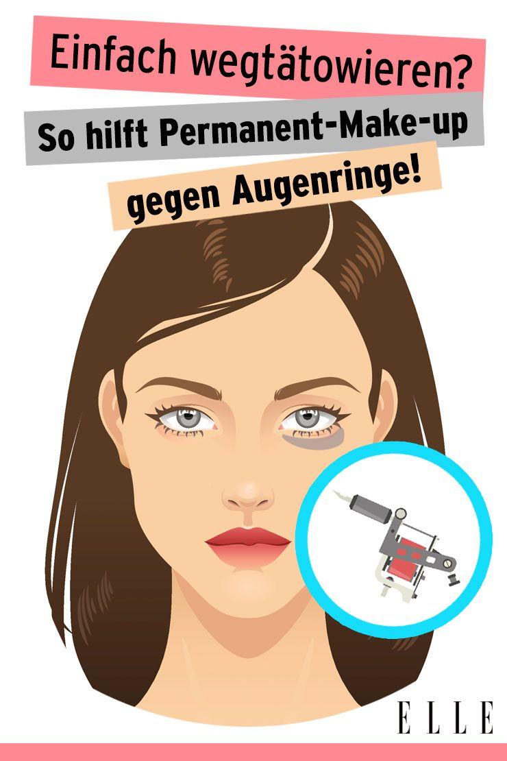 Dauerhafte Augenringe