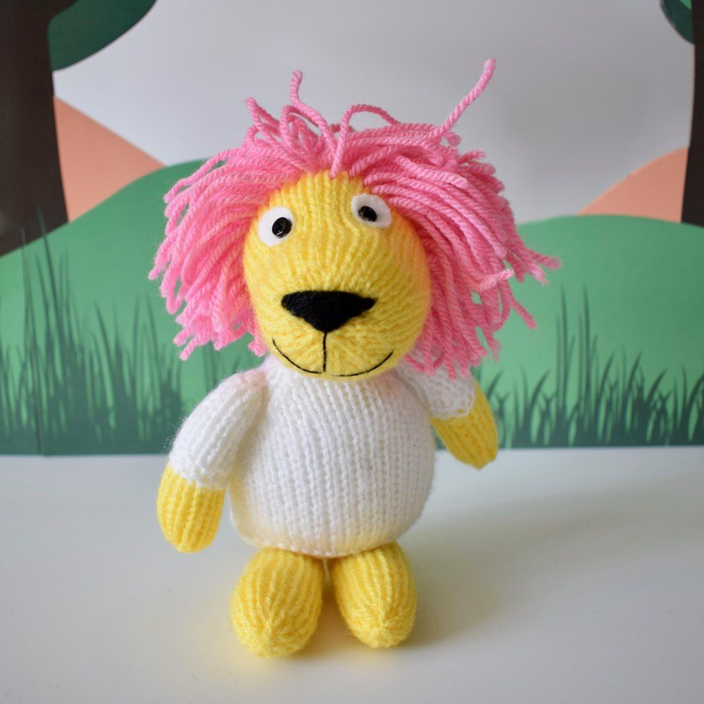 Lionel the Lion Knitting pattern by Amanda Berry   Animal ...