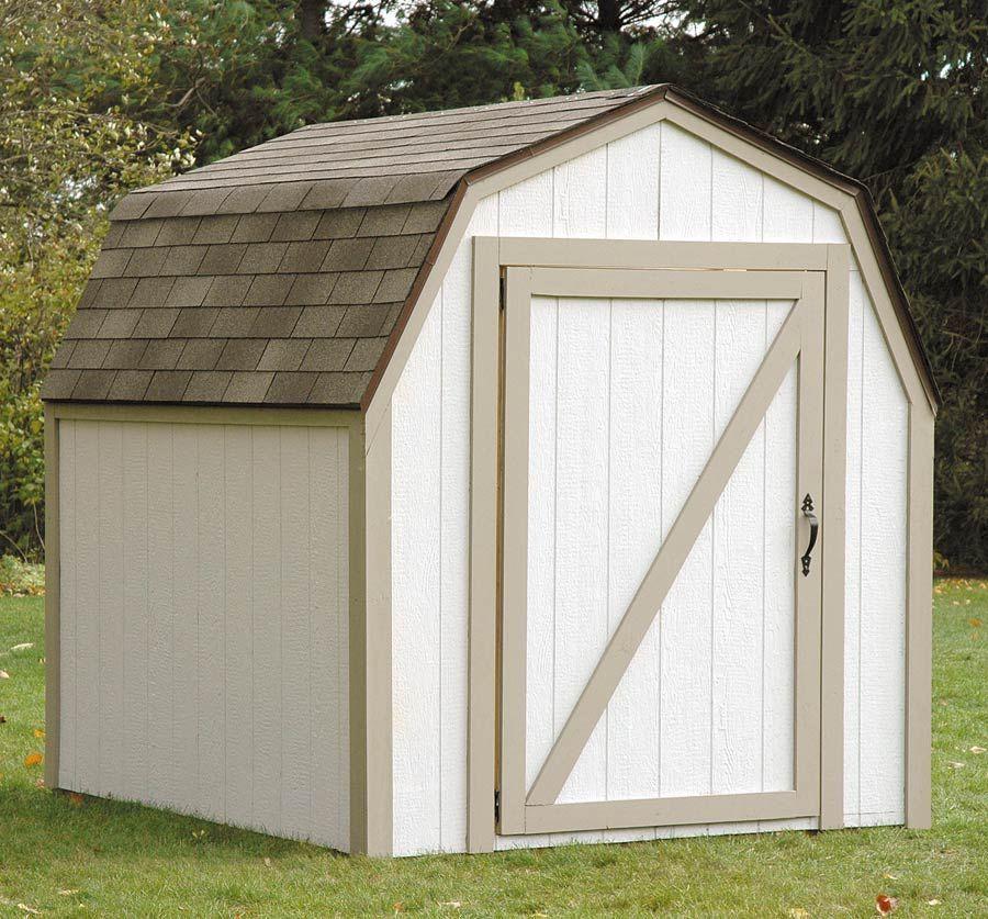 diy outdoor storage shed w barn roof backyard inspiration