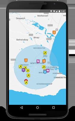 localisation portable avec google maps