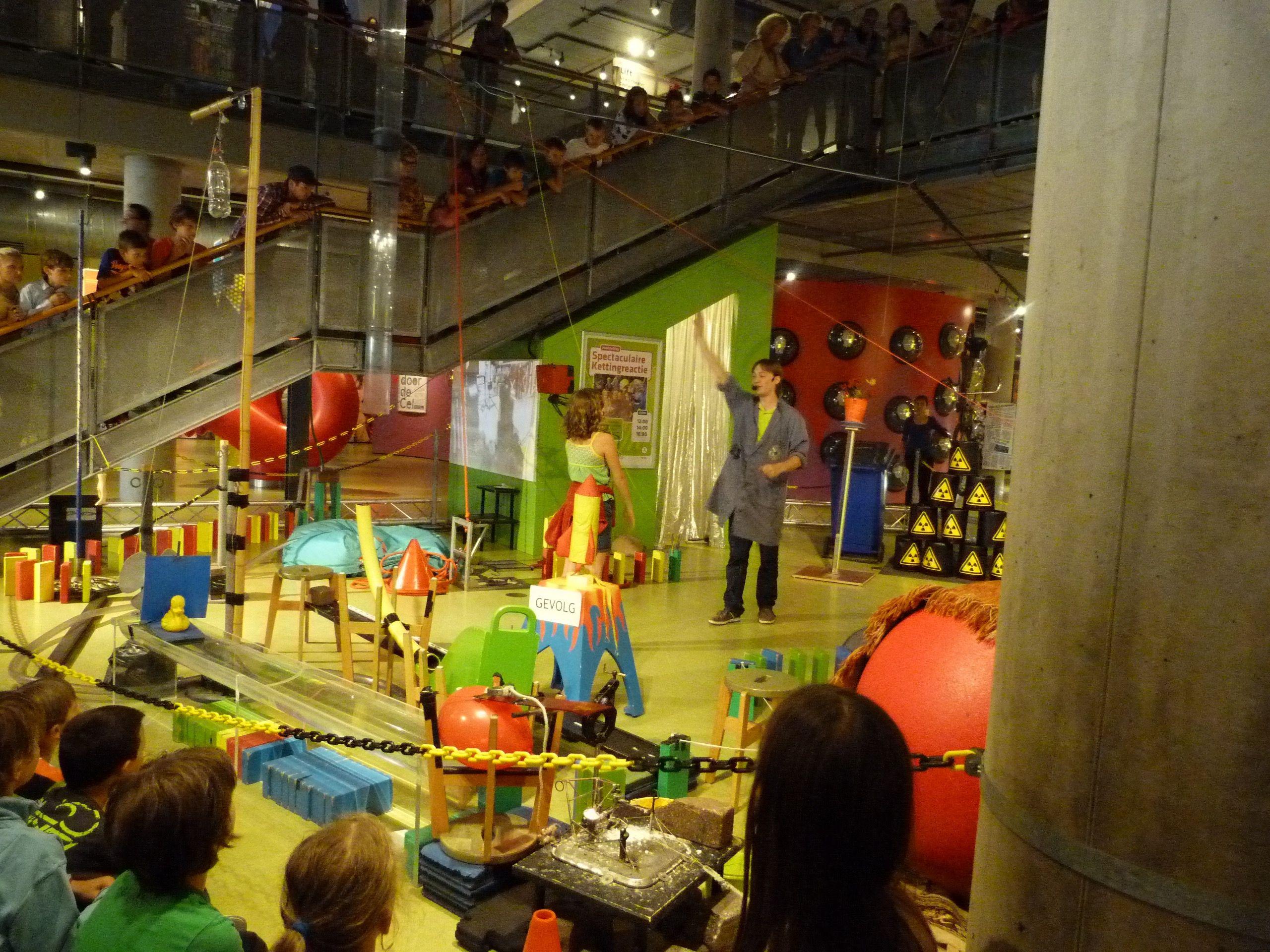 Visita al museo de la ciencia Nemo en Amsterdam