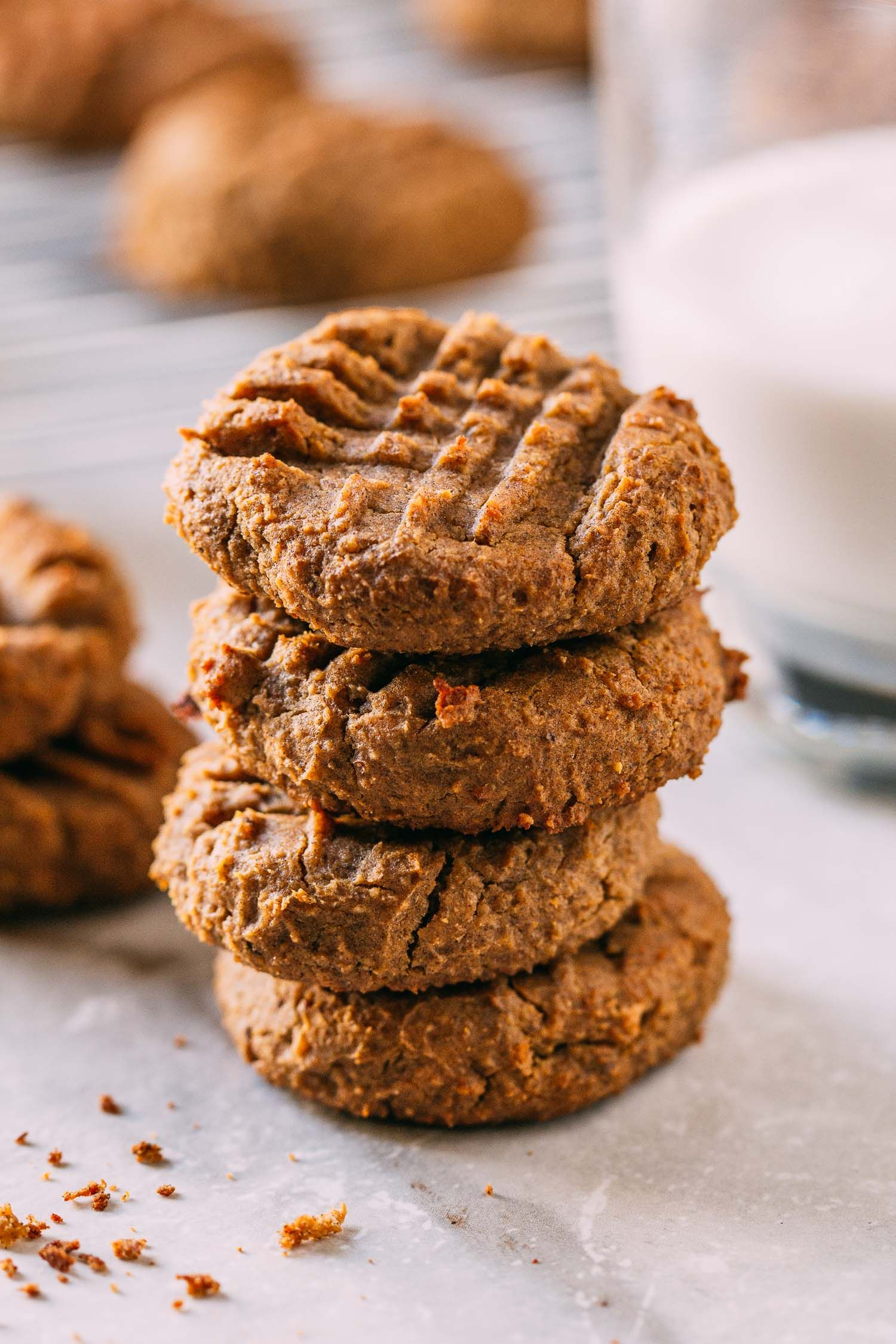 20 Minute Peanut Butter Chickpea Cookies Gluten Free