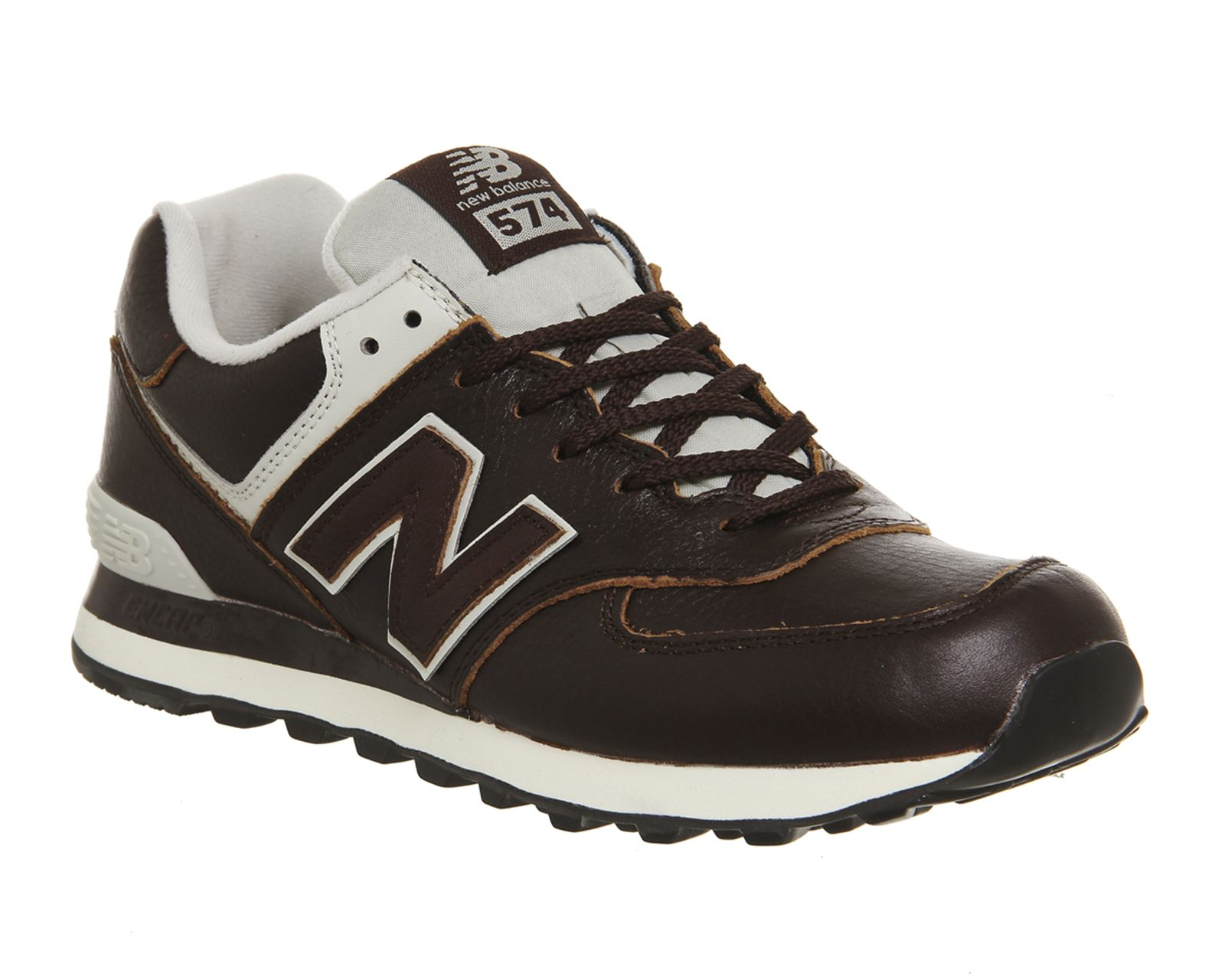 online retailer 017ee 5dff4 Buy Barrel Brown Powder New Balance 574 from OFFICE.co.uk ...