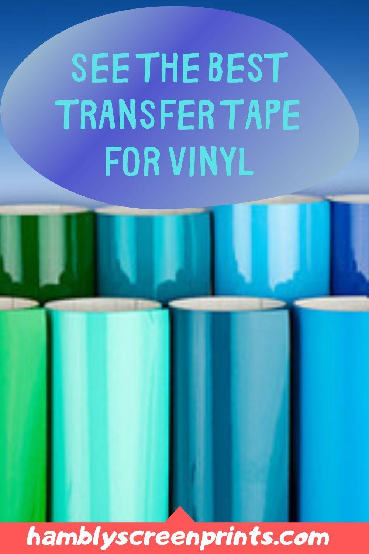 Best Transfer Tape For Vinyl Of 2020 Complete Reviews With Comparison In 2020 Transfer Tape For Vinyl Vinyl Transfer Tape
