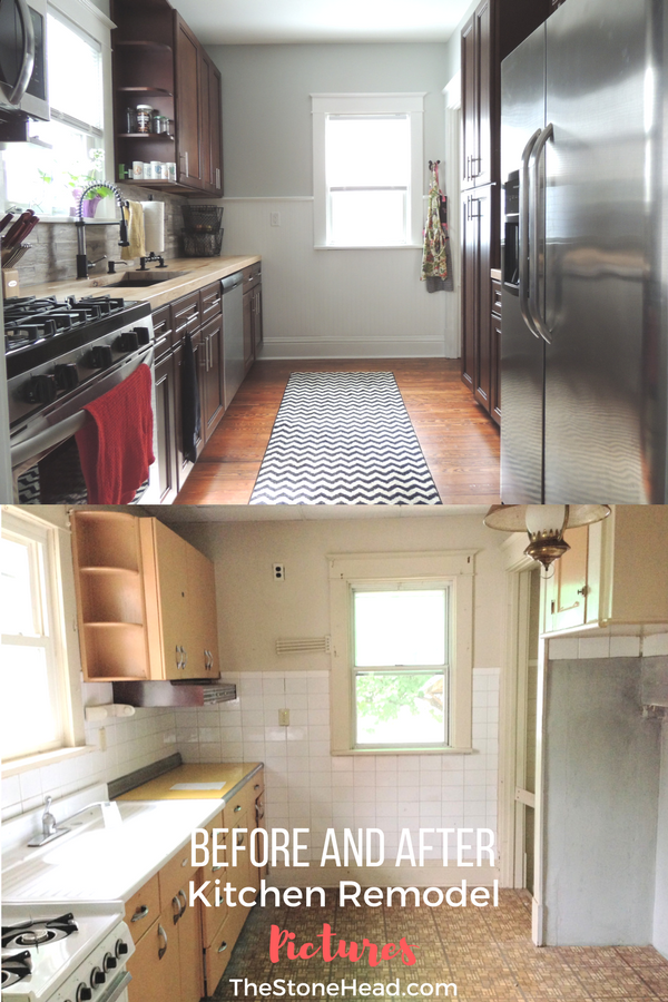 Small Kitchen Remodel Before And After Pictures With Images