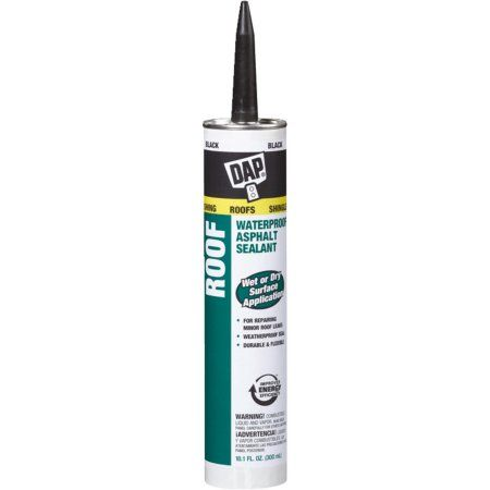 Dap 18268 10 1 Oz Black Roof Waterproof Asphalt Filler Sealant Walmart Com Roof Waterproofing Roof Sealant Sealant