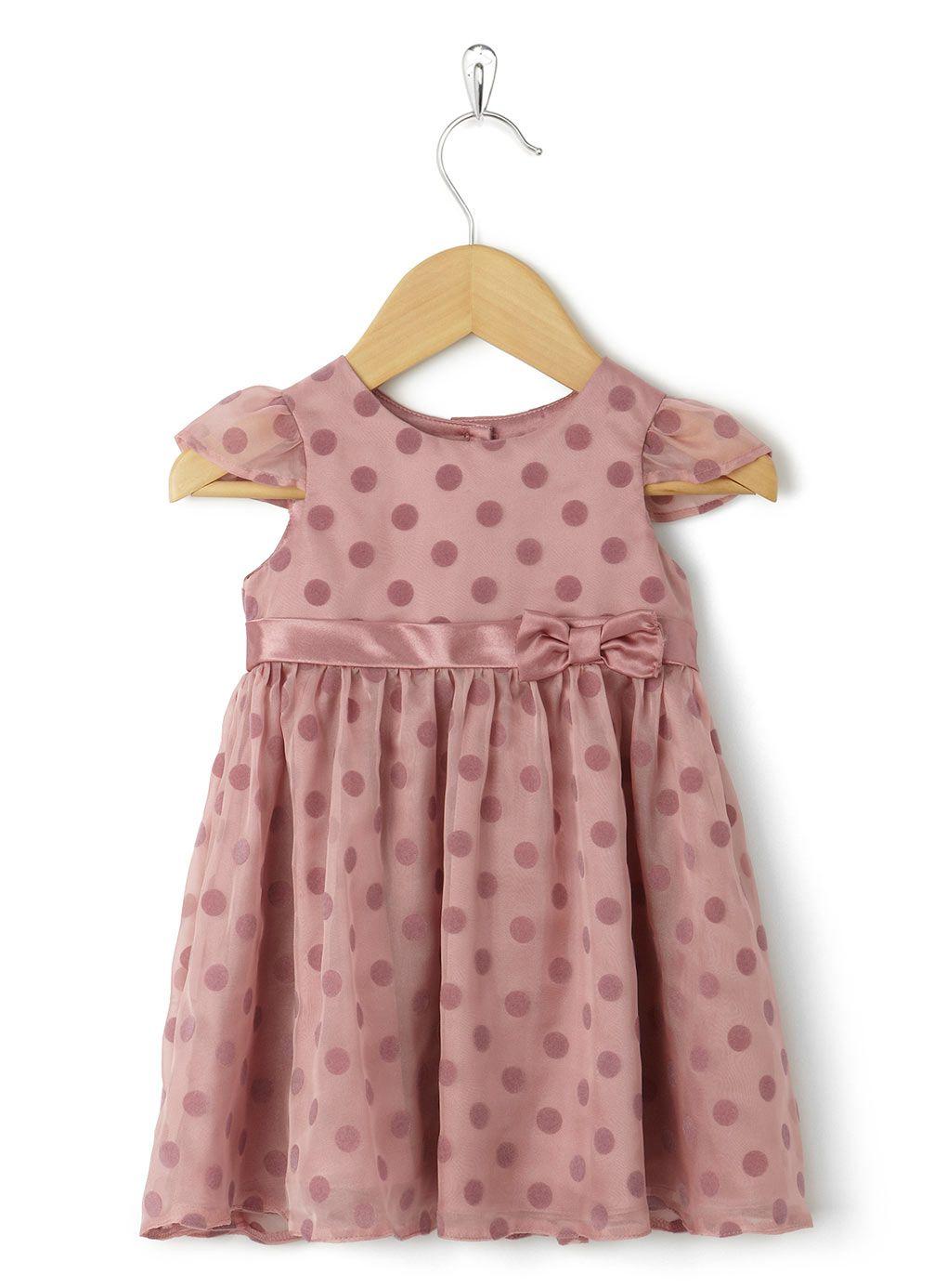 Flock Spot Dress - christening - baby & toddler (0-3) - Teens, Kids ...