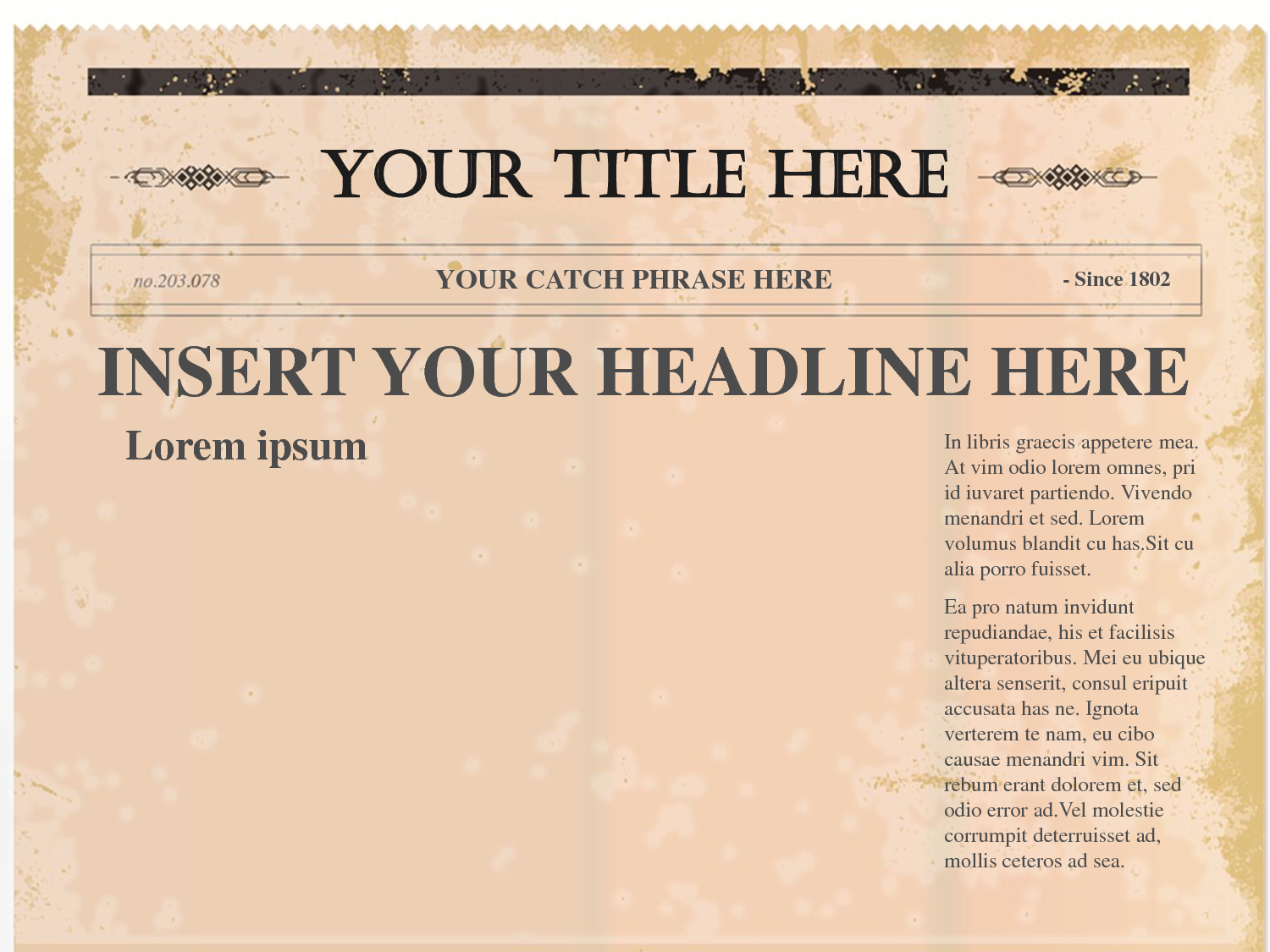 This is a photo of Versatile Printable Newspaper Template