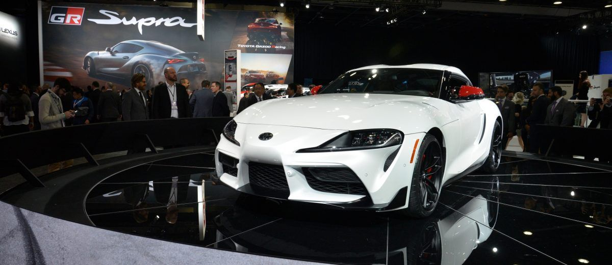 2020 Toyota Supra Officially Breaks Cover 335 Horsepower And 49k Msrp Are Compelling Combination Toyota Supra Toyota Cover