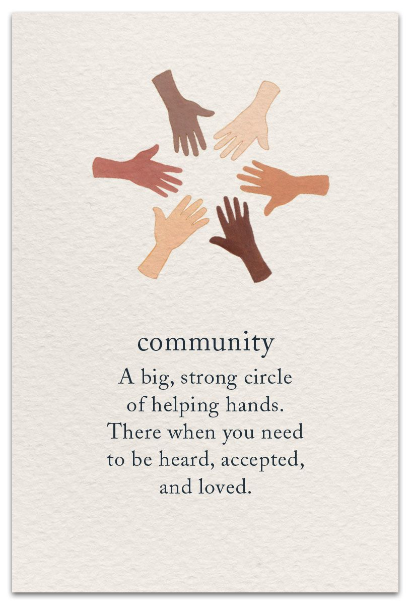 Community Support Encouragement Card Cardthartic Com Community Quotes Inspirational Quotes Inspirational Words