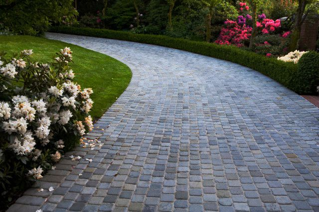 Paver Driveway Ideas Color Considerations Pavers Contractor 5