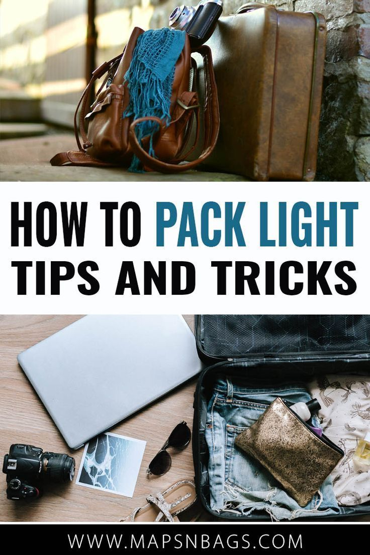 How to pack light tips and tricks with images packing