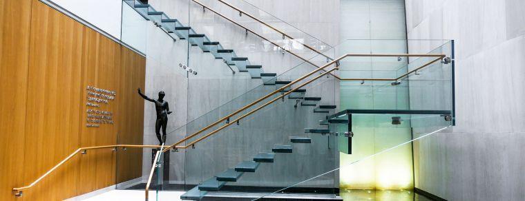 Escalier design intérieur de style minimaliste - inspirations de - Modeles De Maisons Modernes
