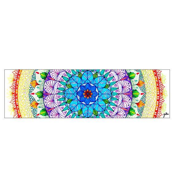 Lesezeichen Mandala Sonne Bücher Malseiten von Fleurdoodles | dies ...