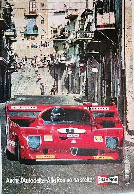Alfa Romeo and Targa Florio