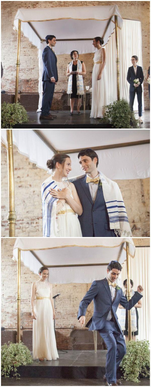 Jewish Wedding Ceremony Brooklyn by Sarah Hoppes