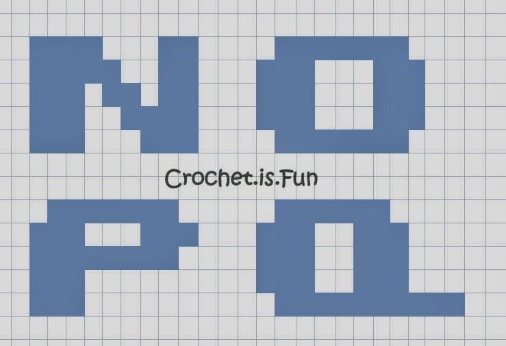 Crochet.is.Fun: Free pattern: Alphabet Graph | kopiah | Pinterest ...