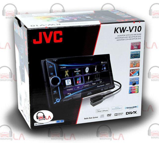 """Sourcing-LA: JVC KW-V10 6.1"""" TV CD DVD MP3 IPOD USB EQUALIZER I..."""