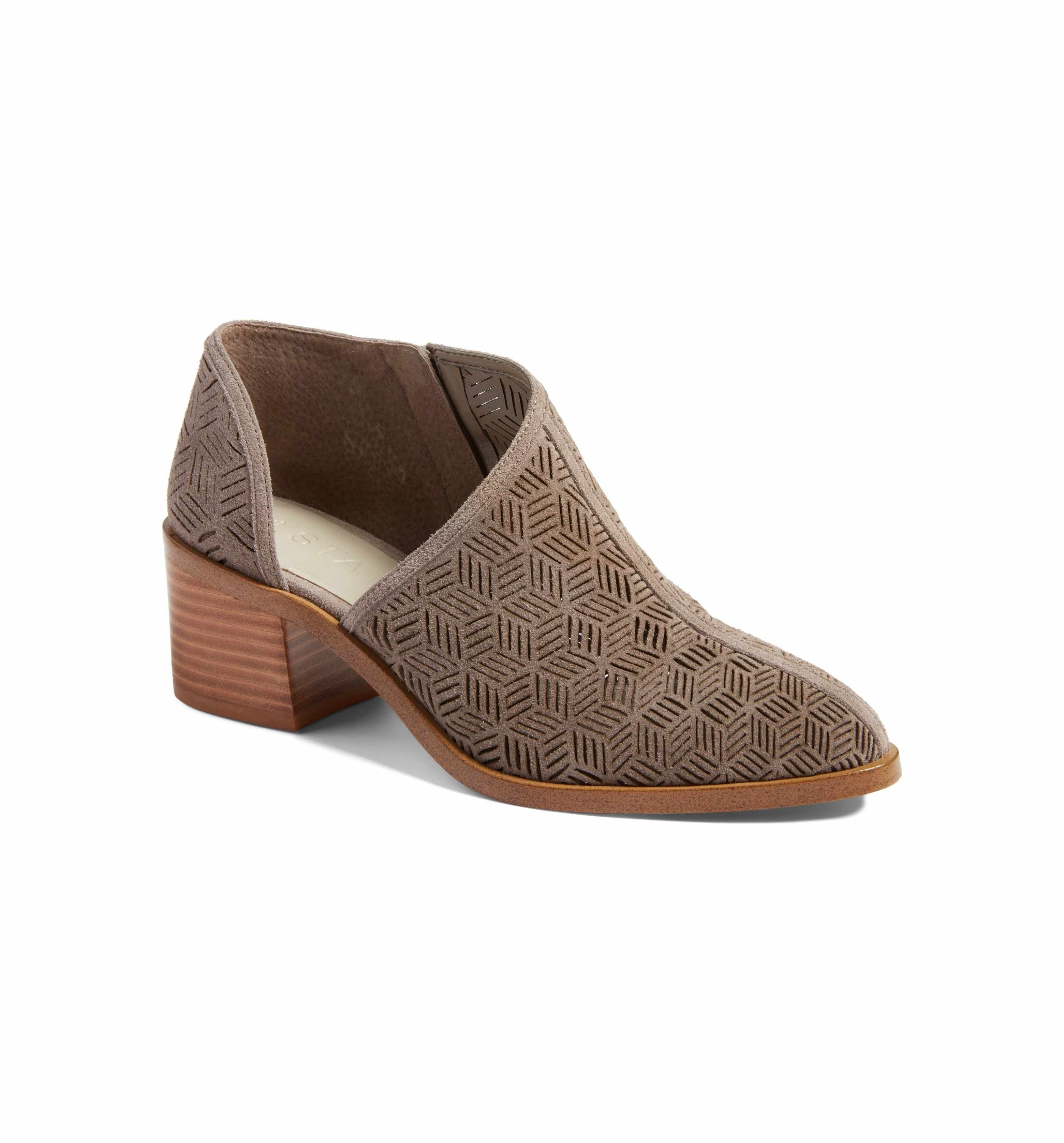 90f4b1795d4 Main Image - 1.STATE Iddah Perforated Cutaway Bootie (Women)