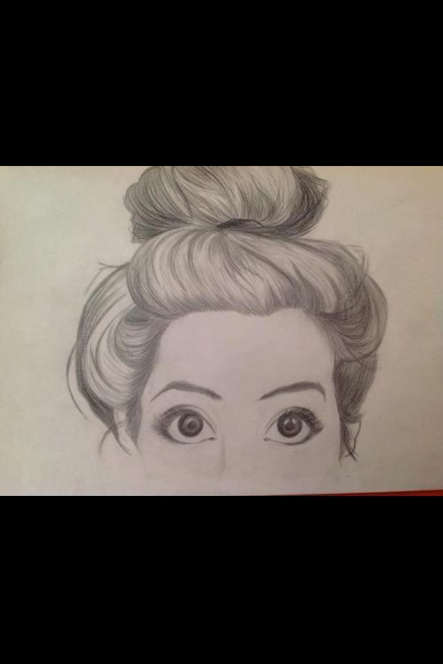 Hair and eyes #drawing