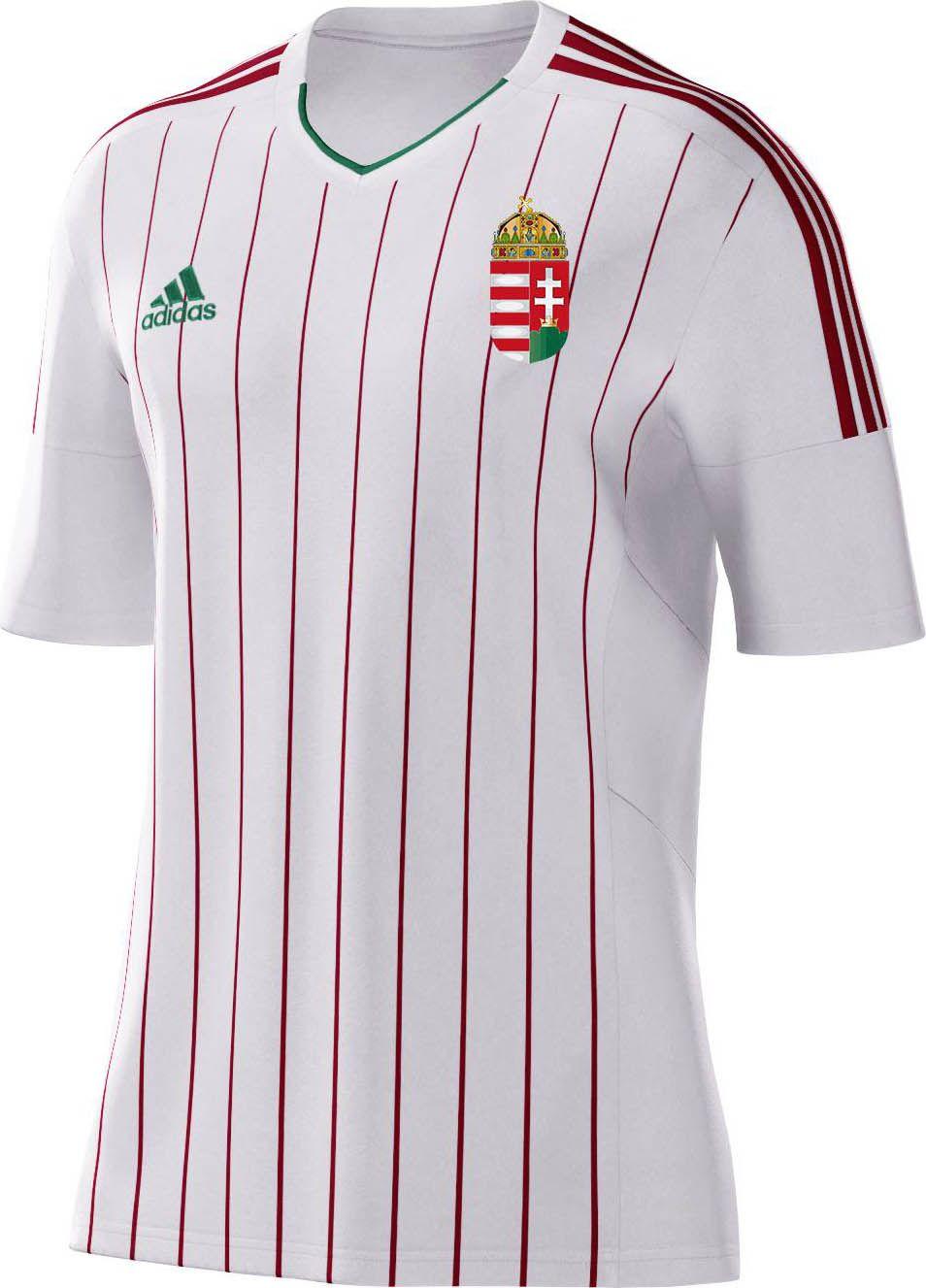 257fbd4b9c7f7 Torcedores escolhem os novos uniformes da Hungria - Show de Camisas ...