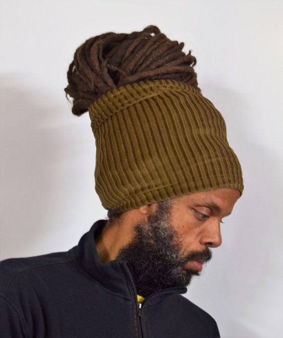 Dread Locs Socks Fashion Headband-Choose A Length Black Ponytail Loc Socks