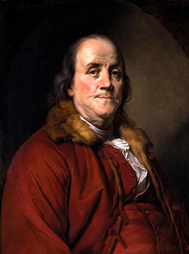 Benjamin Franklin Portrait Benjamin Franklin Planes Of The Face