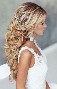 Peinado novia extensiones