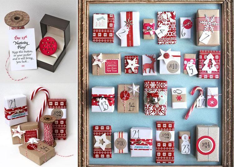 Diy Makeup Advent Calendar : Calendrier de l avent fait maison en jetables objets