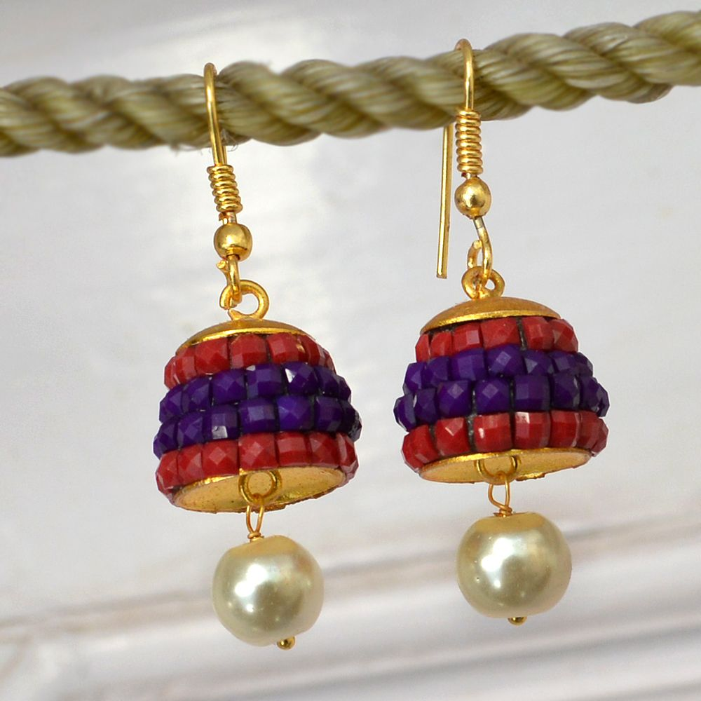 31664b252e4f4 Length : 4.1 cm , Width : 1.3 cm Stone Used In Jewelry : Pearl ...
