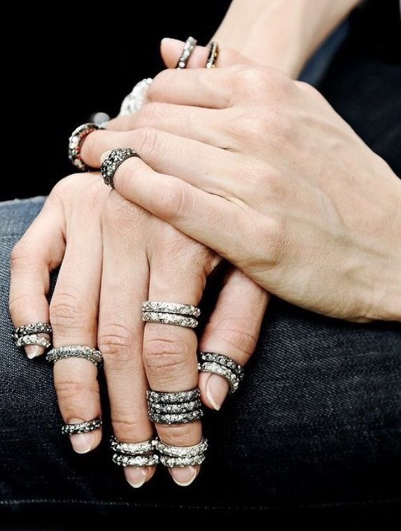 Chanel rings