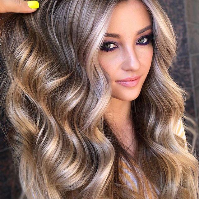 25 Schöne Haarfarbe Hellbraun Zu Versuchen Für Neuen Look