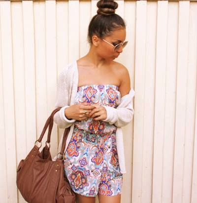 Paisley Romper | This boutique has lots of cute clothes!!
