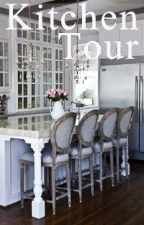 Come see a beautiful country French kitchen with reclaimed beams