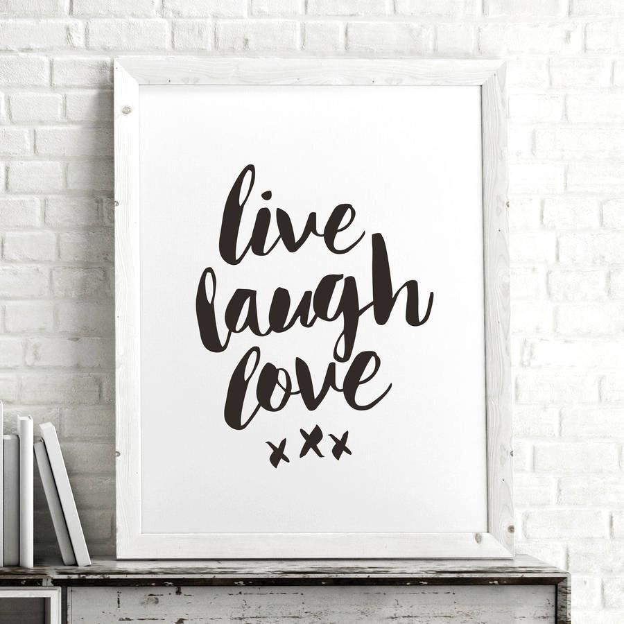 Live laugh love azondpblmsc inspirational