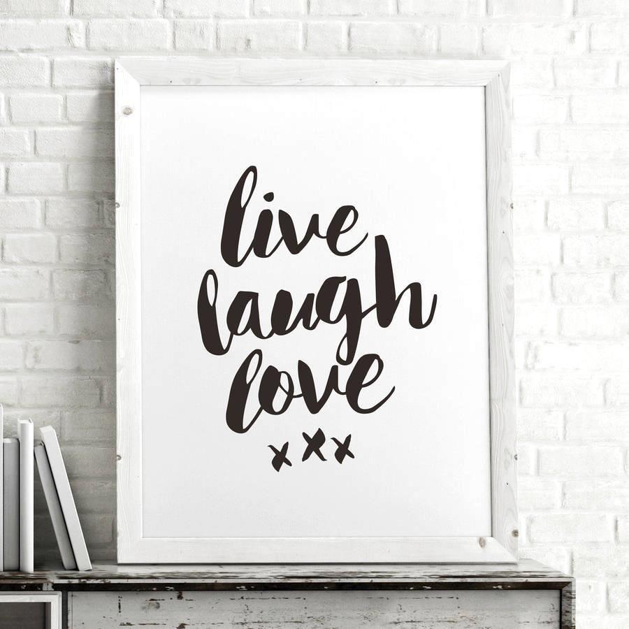 Live laugh love azondpblmsc inspirational