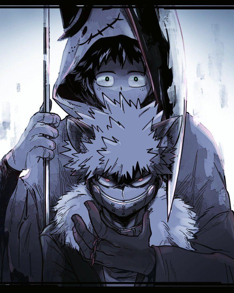 Characters: Midoriya Izuku, Katsuki Bakugou | My Hero