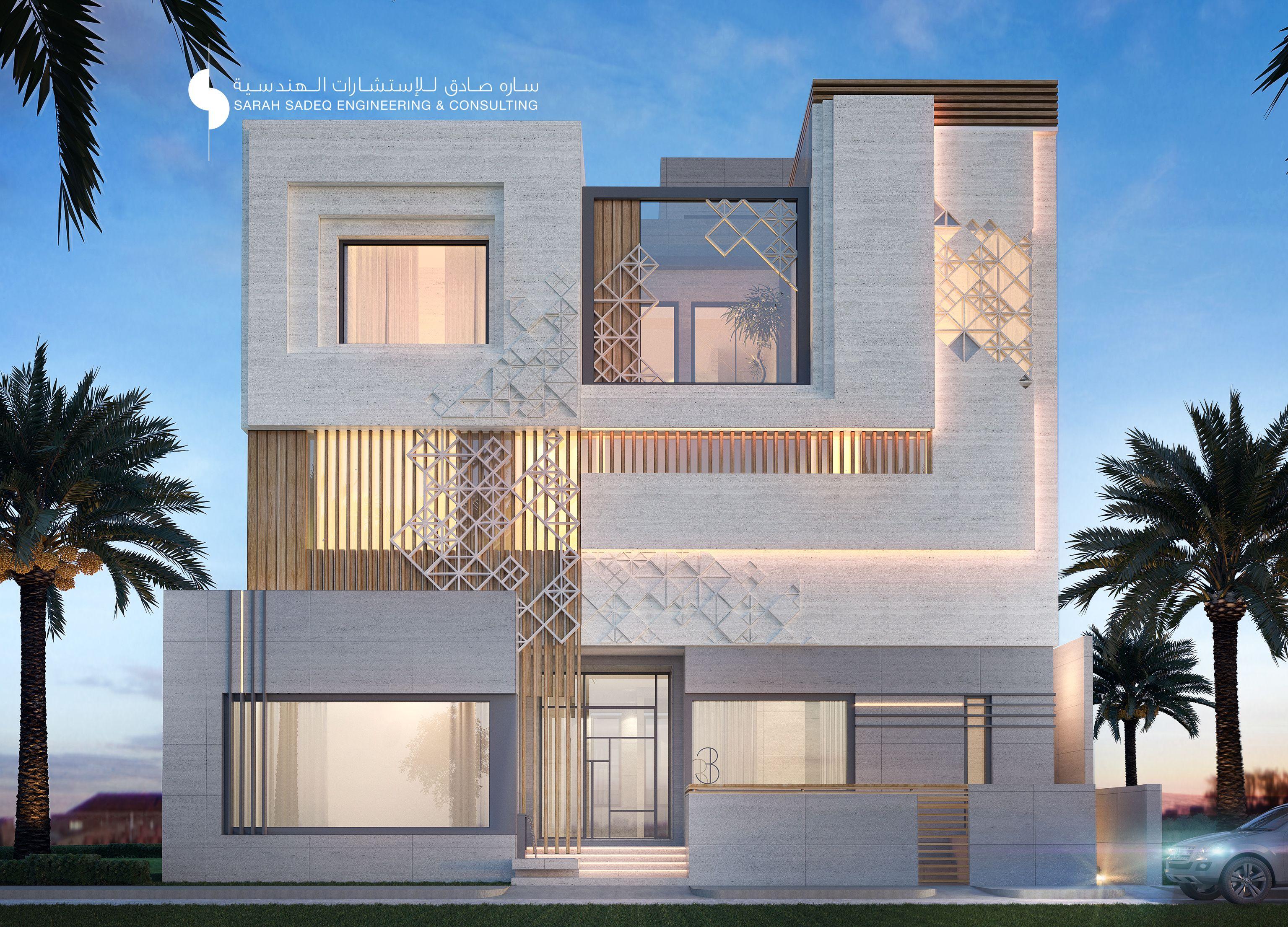 Private Villa Kuwait 400 Sarah Sadeq Architects