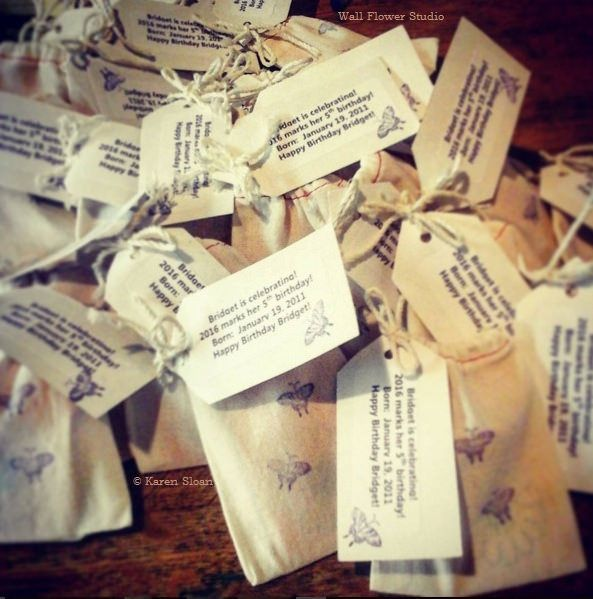 Butterfly Garden - Wildflower Seed #Favors  | www.etsy.com/shop/WallFlowerGardenShop