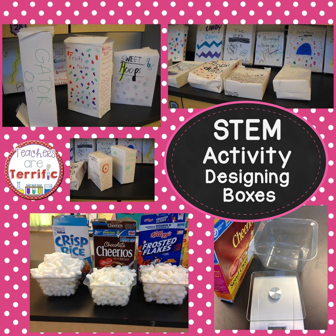 Stem School Finder: STEM Designing A Box Using Volume And Surface Area