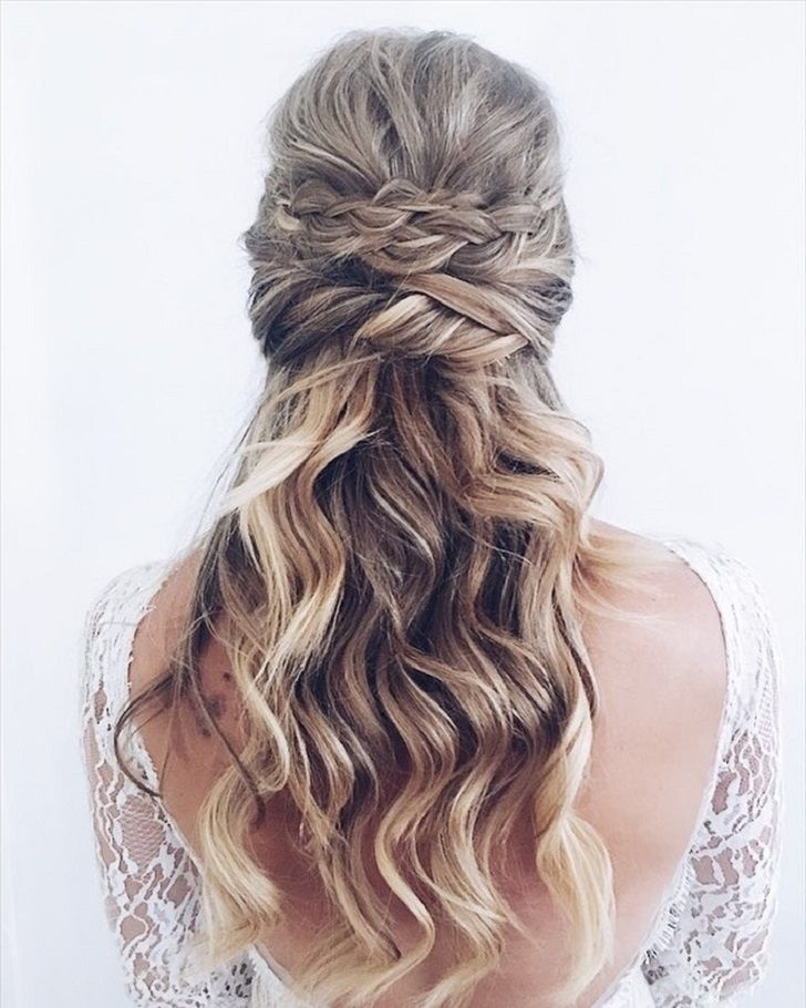 24 Gorgeous braid wedding hairstyles with bohemian vibes