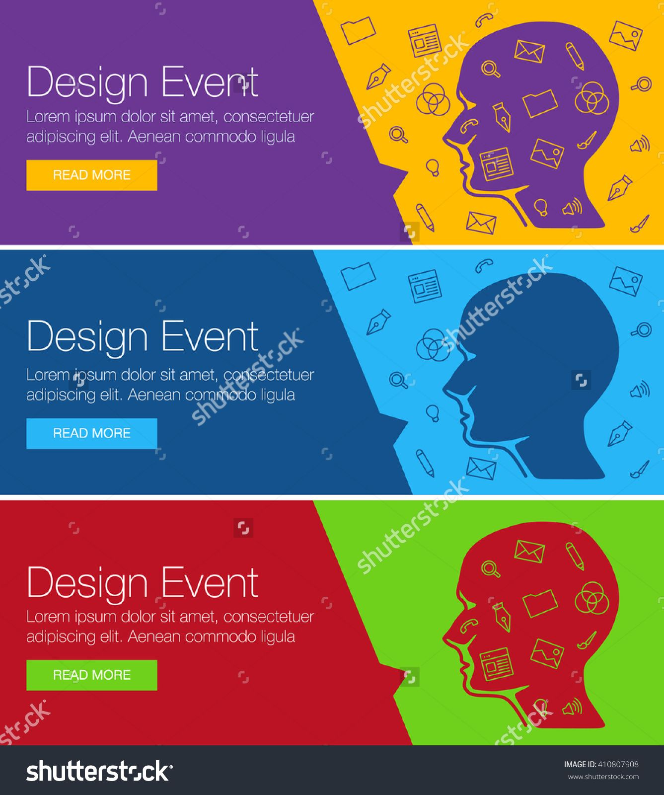 Exceptional Poster Design For Event, Online Course, Training, Workshop. Banner Design  Of Ideas. Head Ideas Of Layout For Event, Training. Design Ideas For  Hackathon ...