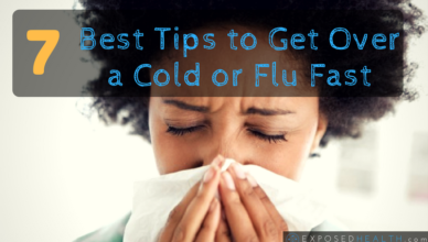7 best tips to get over a cold!